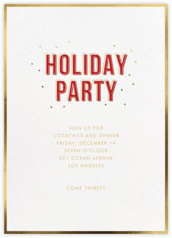 Holiday Buzz - Sugar Paper
