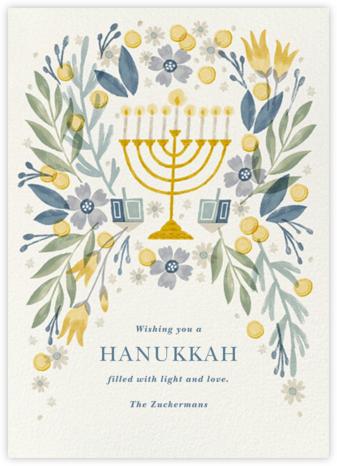 Floral Hanukkah - Paperless Post