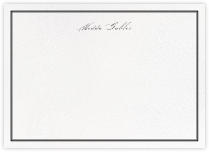 Mayfair - Black - Paperless Post - Personalized Stationery