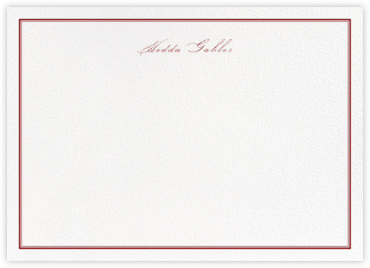 Mayfair - Crimson - Paperless Post - Personalized Stationery