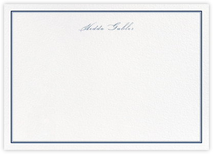 Mayfair - Dark Blue - Paperless Post - Personalized stationery