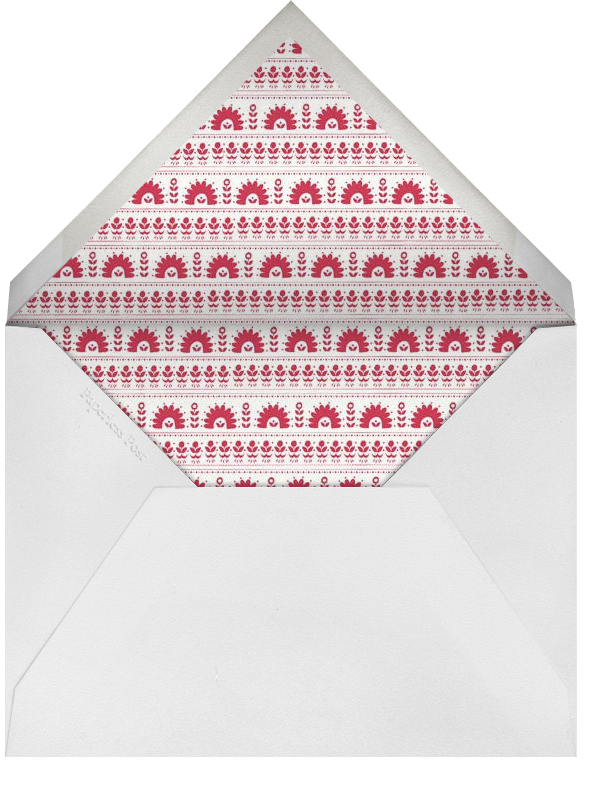 A Very Happy Unbirthday - Lipstick - Mr. Boddington's Studio - Kids' birthday - envelope back