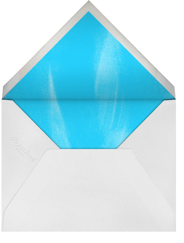 Glittering New Year - Paperless Post - New Year - envelope back