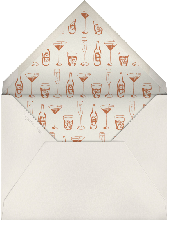 New Years Cocktails - Paperless Post - New Year's Eve - envelope back