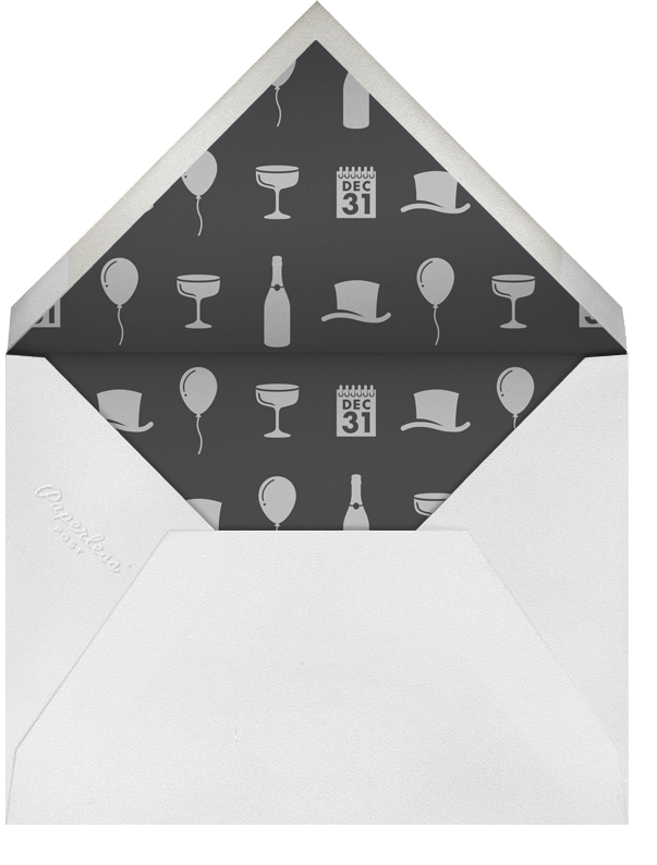 Pass Dec 31 - Paperless Post - New Year's Eve - envelope back