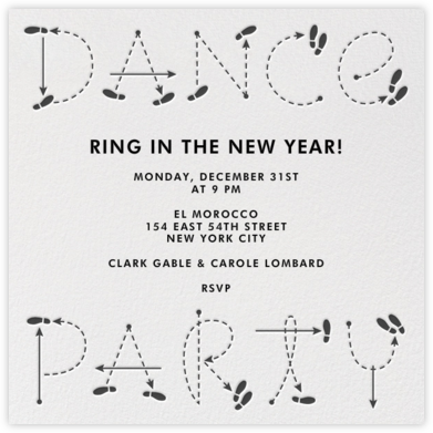 Dance Party - Paperless Post -