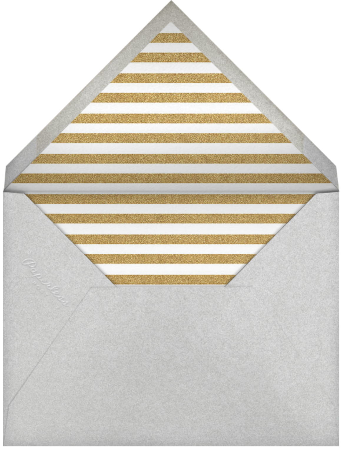 Food Booze and You - Paperless Post - Winter entertaining - envelope back