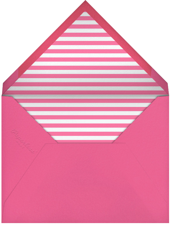 Heart Thank You - Pink - Paperless Post - Personalized stationery - envelope back