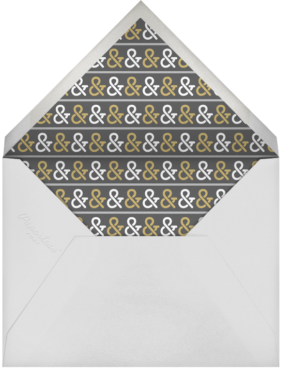 Golden Ticket (Tabac) - Paperless Post - Engagement party - envelope back