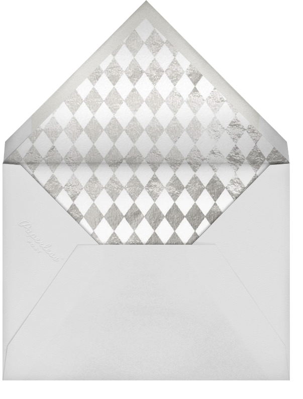Wineglass Foil (Pitch) - Paperless Post - Adult birthday - envelope back