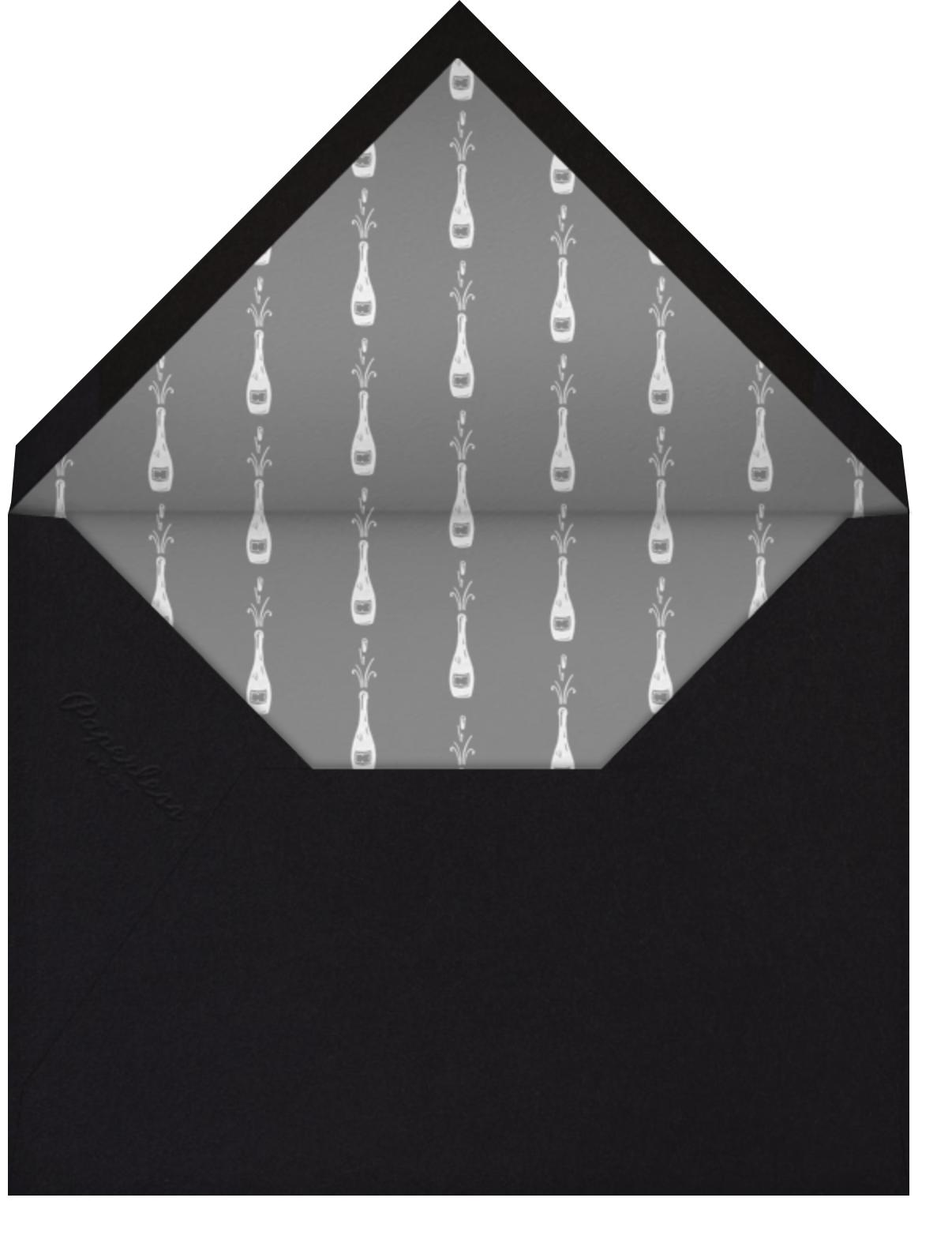 Champagne Glasses - Paperless Post - Envelope