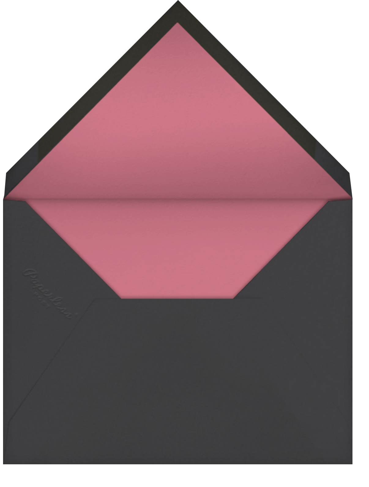 Deckle (Tall) - Cream - Paperless Post - All - envelope back