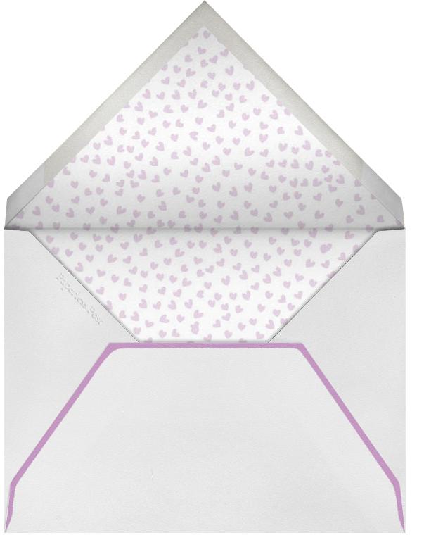 Balloons - Fuschia - Linda and Harriett - Adult birthday - envelope back