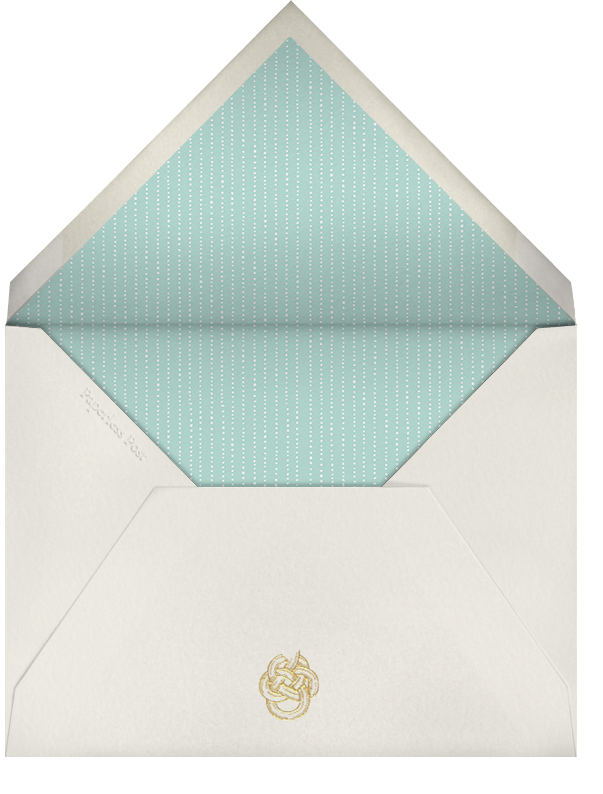 High Tea - Pink - Paperless Post - Sorority events - envelope back