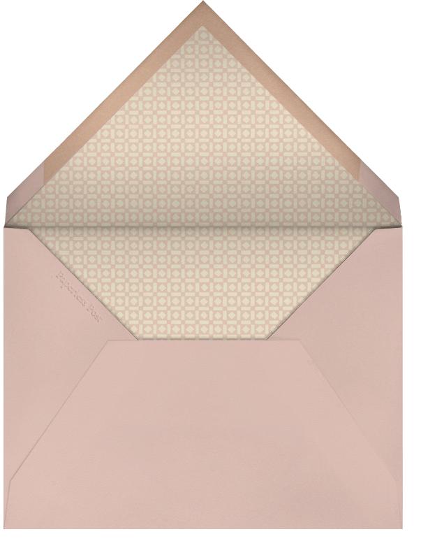 Leaf Inner Gold Bevel Border - Rose (Square) - Paperless Post - Save the date - envelope back