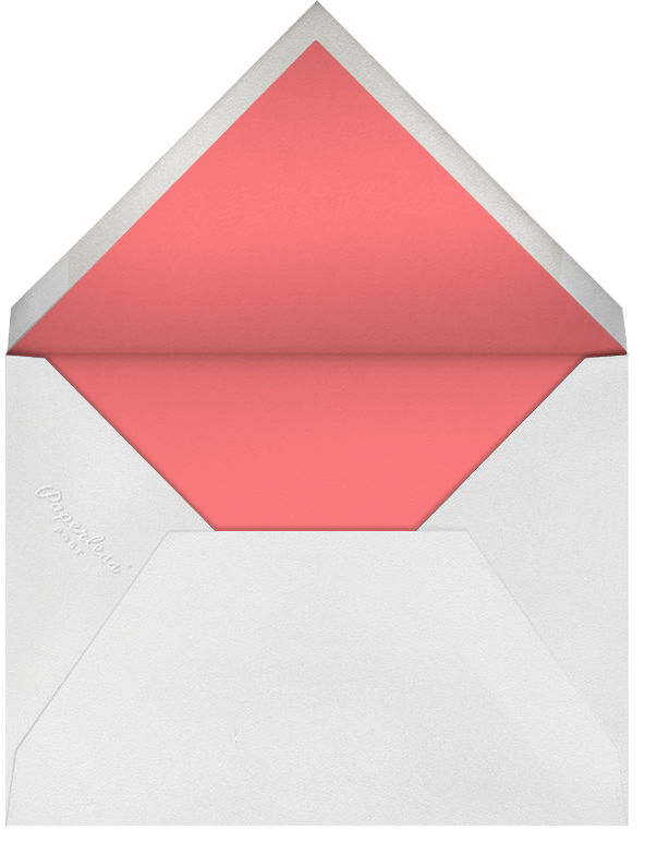 Radial Triangles - Black - Paperless Post - null - envelope back