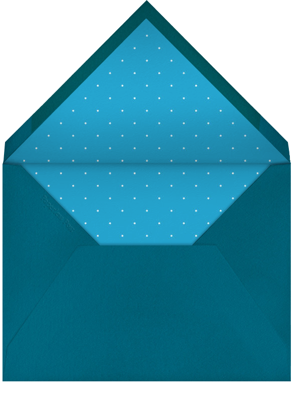 Airy Dots - Ivory with Teal & Gold - Paperless Post - null - envelope back
