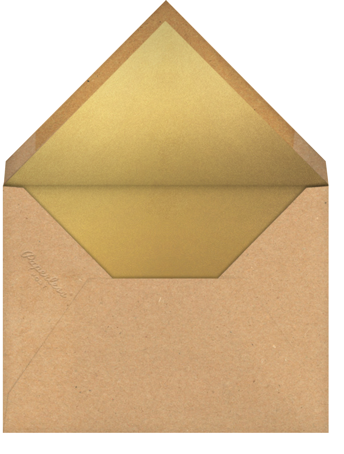 Speech Bubble - Paperless Post - Father's Day - envelope back