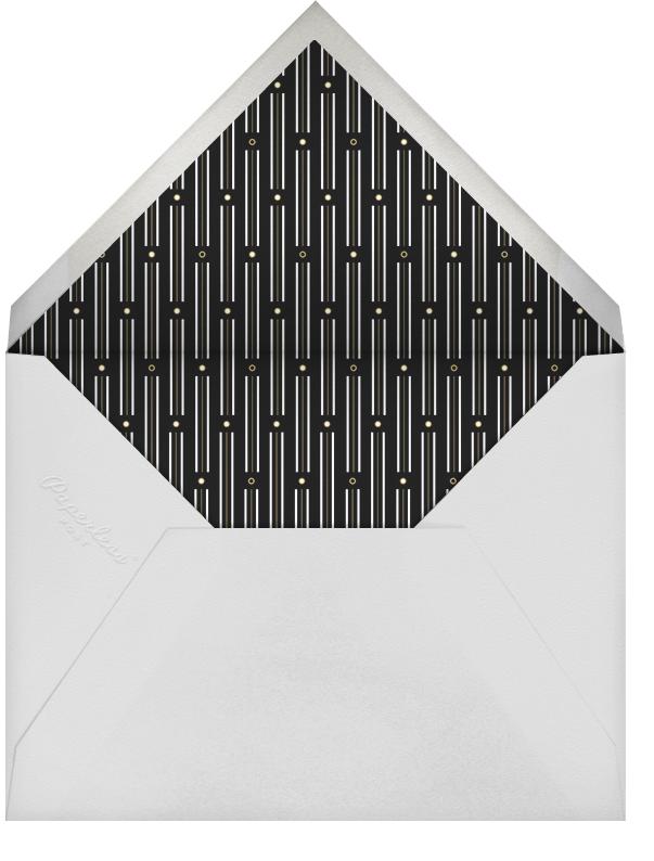 La Goulette Disco - White/Gold - Paperless Post - null - envelope back