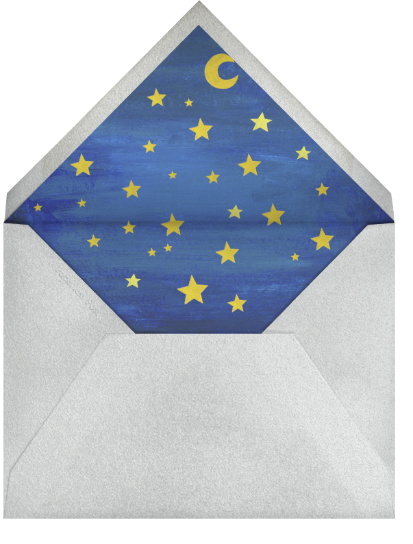 Outer Space - Paperless Post - Kids' birthday - envelope back