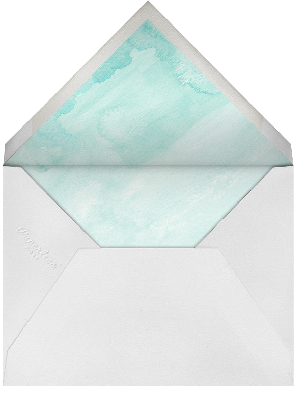 Color Wash (Save the Date) - Persian Green - Paperless Post - Destination - envelope back