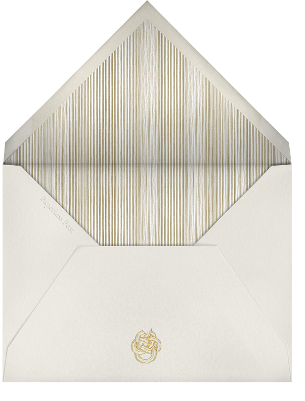 Thurloe - Paperless Post - New Year's Eve - envelope back