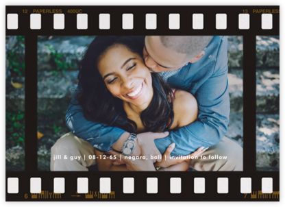 Film Still (Horizontal) - Paperless Post - Save the dates