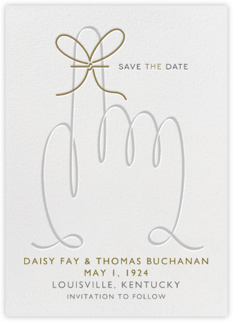 String Reminder - Paperless Post - Before the invitation cards