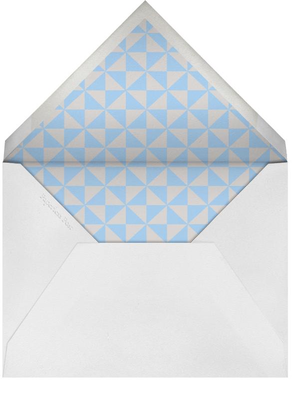 Little Lamb (Light Blue) - Paperless Post - Baptism  - envelope back