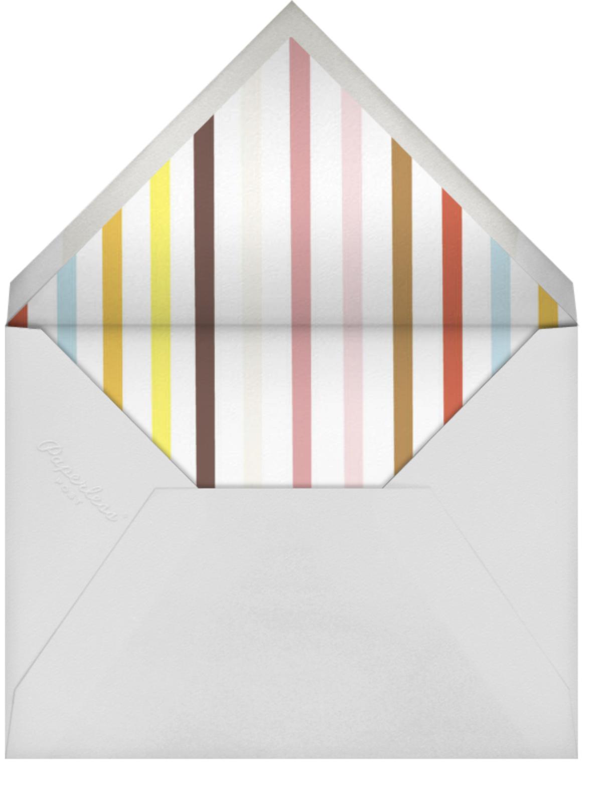 Ice Cream Cone - White - Paperless Post - Kids' birthday - envelope back