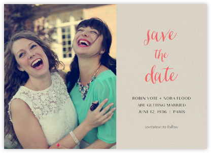 Photo Spread - Santa Fe - Paperless Post - Modern save the dates
