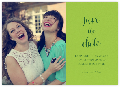 Photo Spread - Charterhouse - Paperless Post - Save the Date with Photo