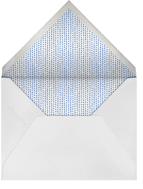 Full-Page Photo (Double-Sided) - Midnight - Paperless Post - Envelope