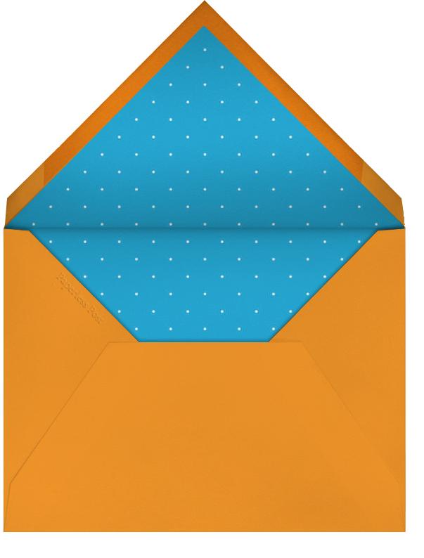 Cadogan - Cream/Pumpkin - Paperless Post - Graduation party - envelope back