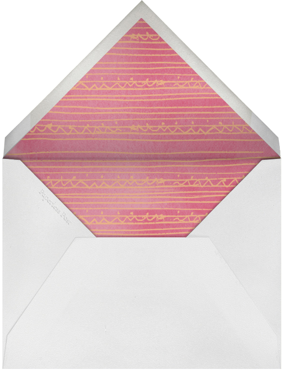 Hop on Over - Crate & Barrel - Easter - envelope back