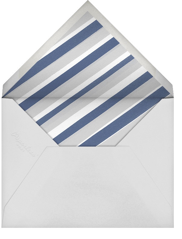 Cream - Tall - Paperless Post - Retirement party - envelope back