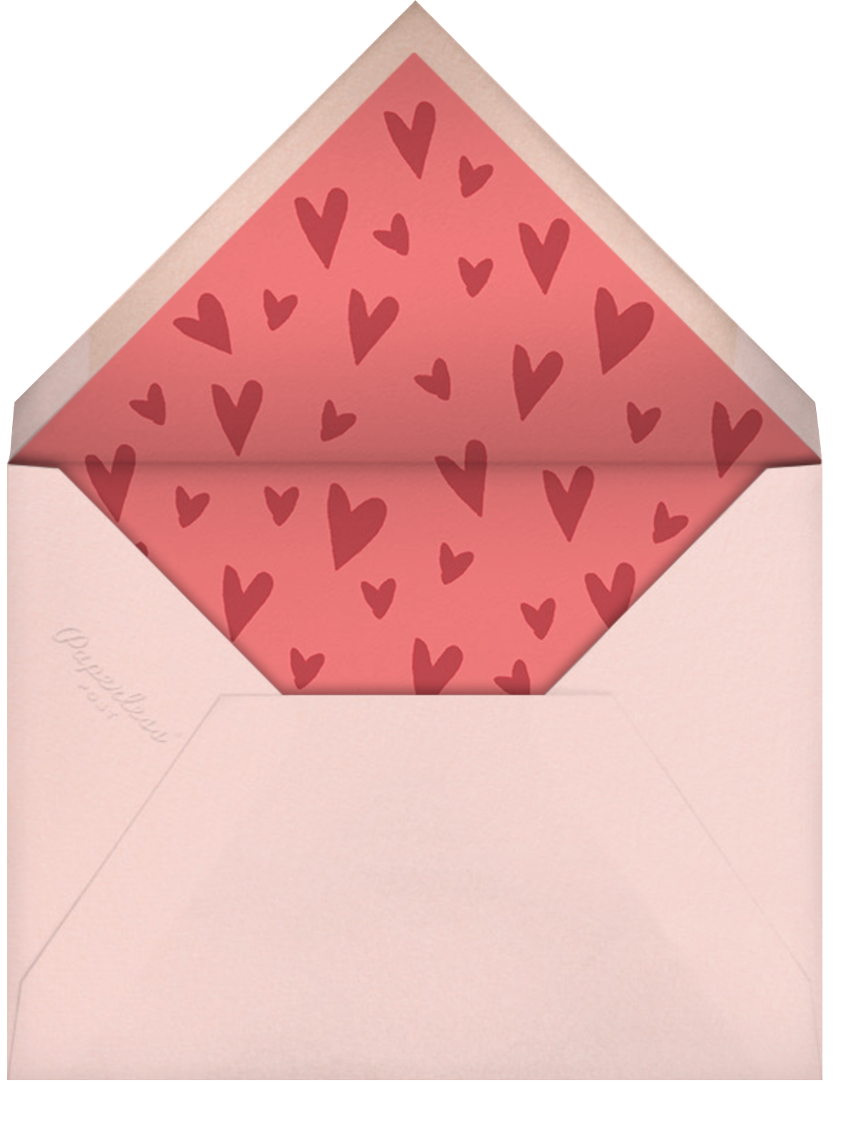 My Favorite Thing - Paperless Post - Valentine's Day - envelope back