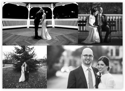 Four Photo Thank You Card - Paperless Post - Wedding Announcements