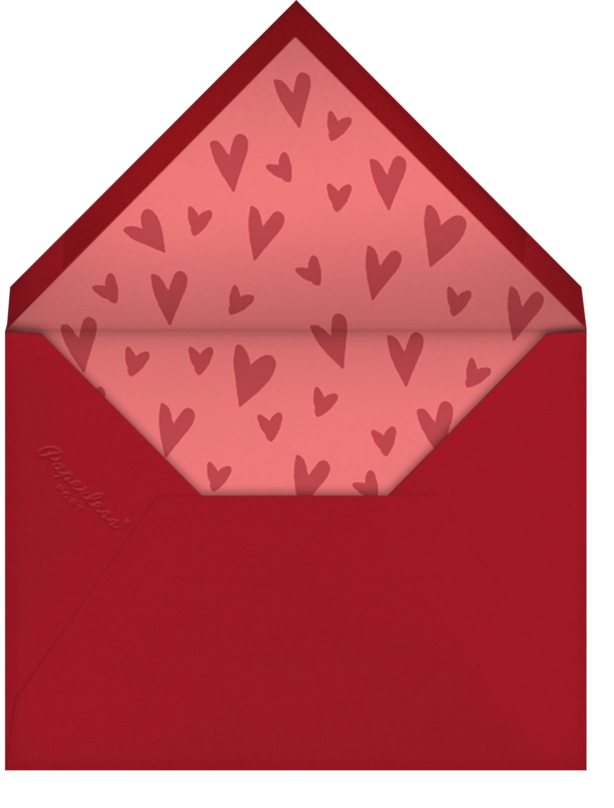 Chicken to my Waffles - Paperless Post - Envelope