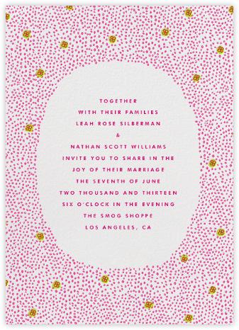 Garden Flowers - Pink Pistachio - The Indigo Bunting -