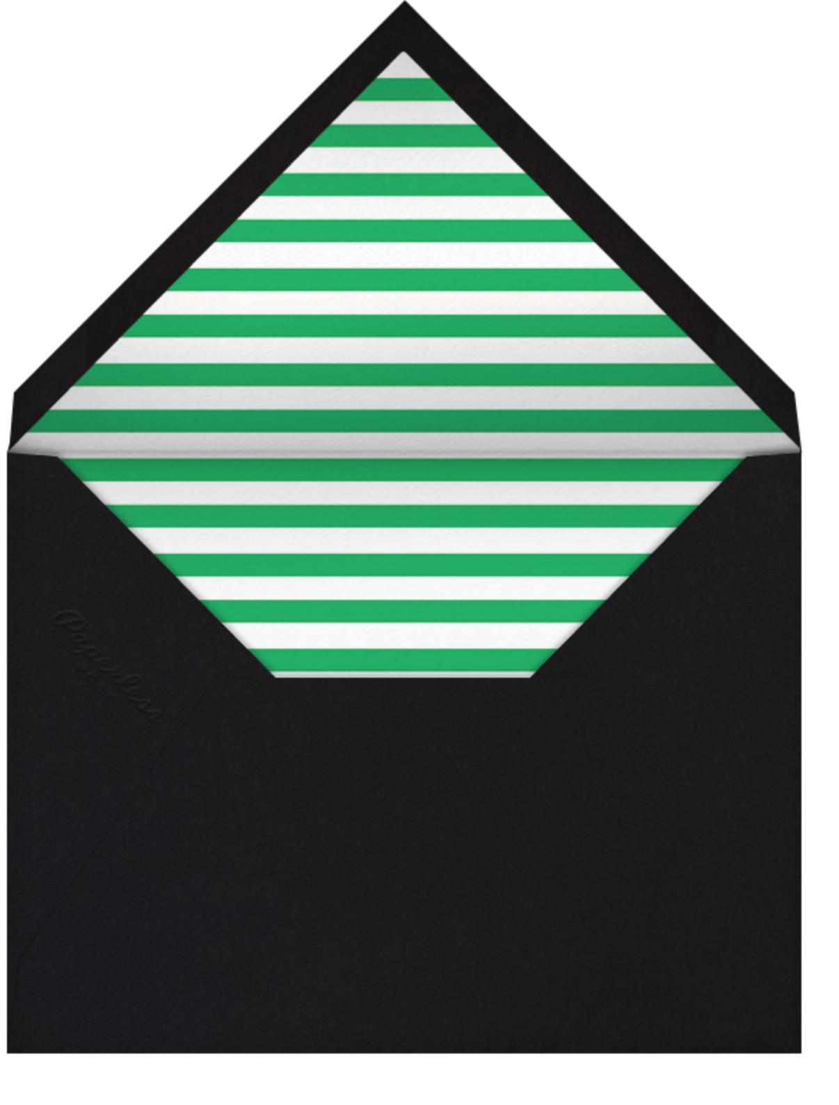 Santa Fe - Green/Yellow - The Indigo Bunting - All - envelope back