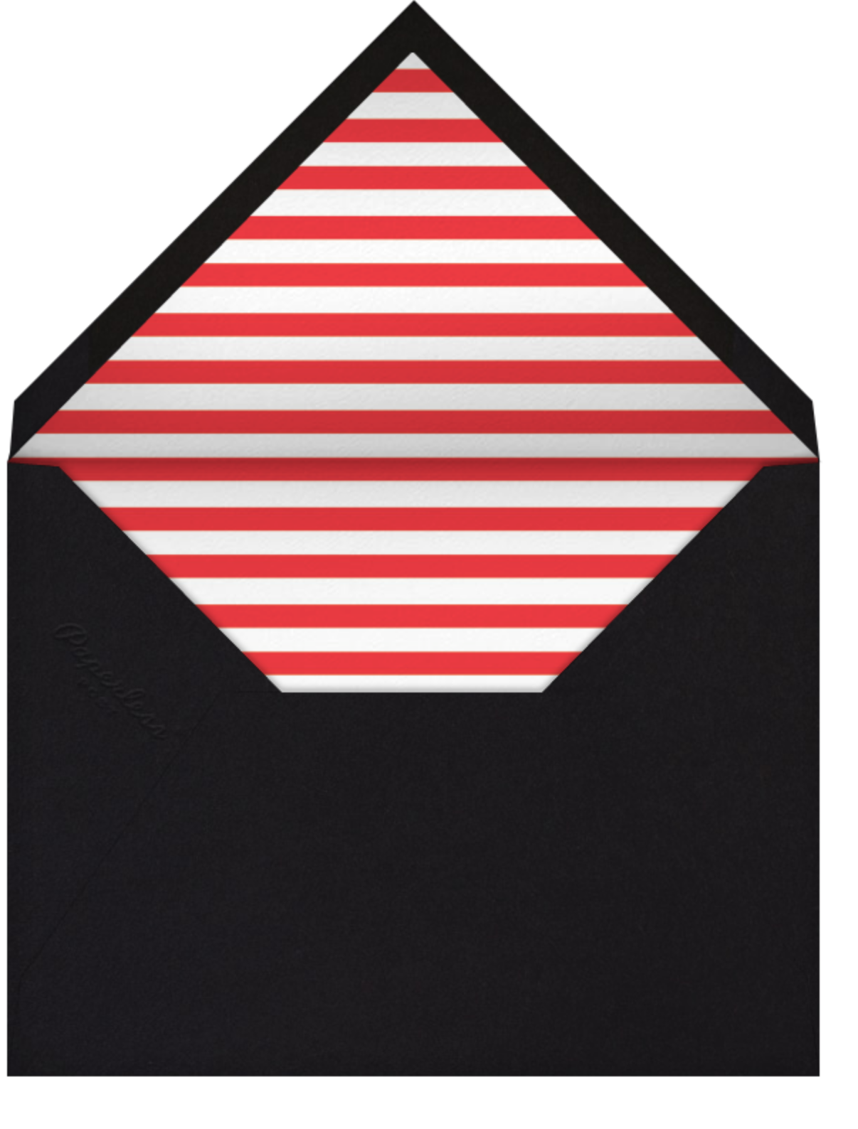 Santa Fe - Red/Pink - The Indigo Bunting - All - envelope back