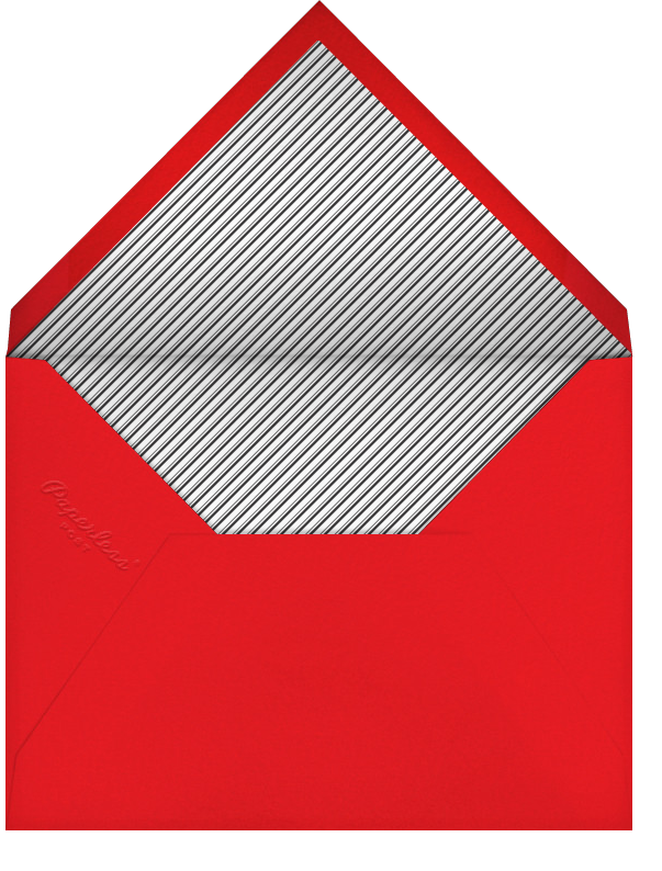Love Saves the Date - Red - Paperless Post - Envelope