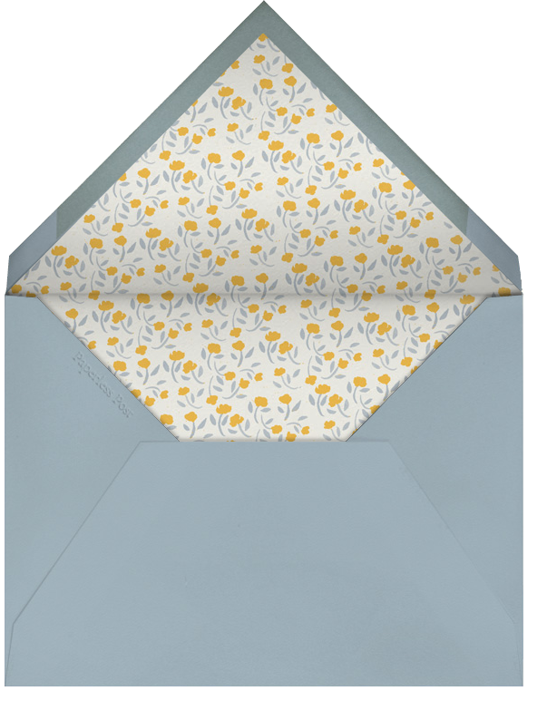 Diagonal Stripe Tall - Cream Mango Pacific - Paperless Post - Adult birthday - envelope back