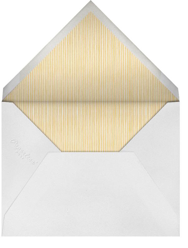 Geometric Border - Orange - Paperless Post - Adult birthday - envelope back