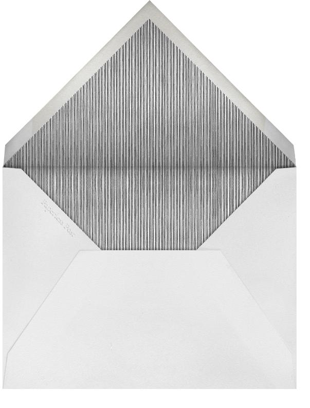 Radial Triangles - Orange - Paperless Post - Adult birthday - envelope back