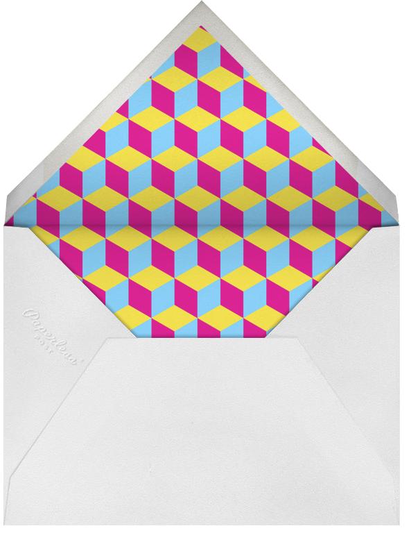 Getting Old is Rad - Cyan - Paperless Post - Envelope