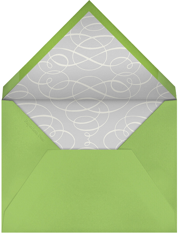 Photo Filigree - Paperless Post - 1st birthday - envelope back