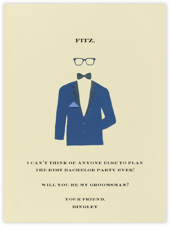 Handsome - Paperless Post - Will You Be My Bridesmaid Cards