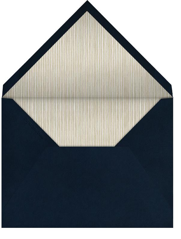 Indented Rounded Corners - Dark Blue - Paperless Post - Rehearsal dinner - envelope back